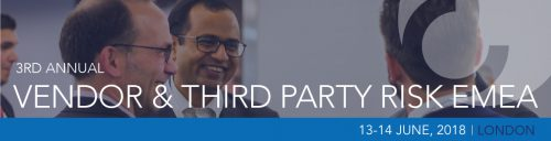 CEFPRO Vendor & Third Party Risk EMEA 2018