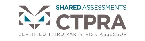 CTPRA Certified Third Party Risk Assessor Shared Assessments TPRM accreditation