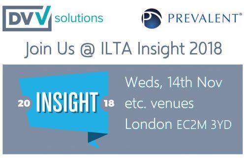ILTA Insight 2018 DVV Solutions Prevalent Third Party risk