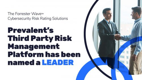 Prevalent Third Party Risk Management Forrester CyberSecurity Leader
