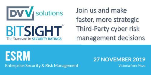 DVV Solutions BitSight TPRM ESRM UK 2019
