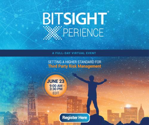 BitSight Xperience TPRM Full Banner