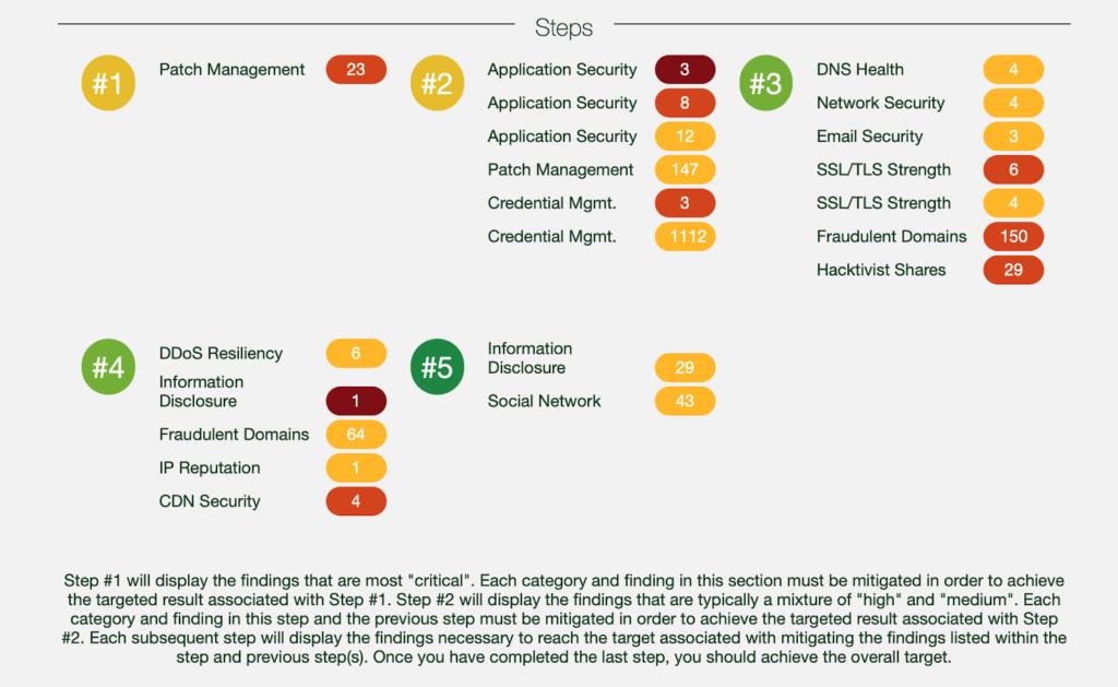 NormShield Strategy Report Key Steps Screenshot
