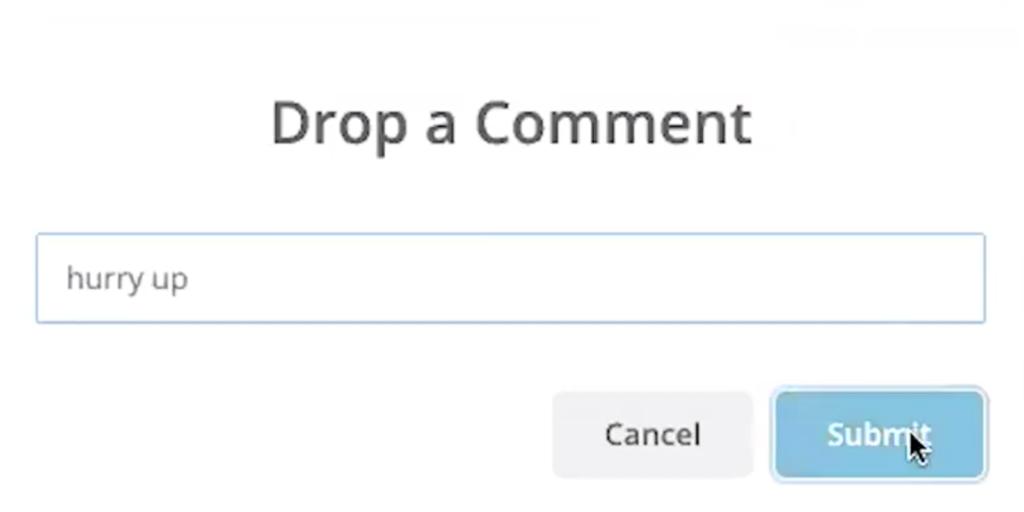 NormShield Ticketing Add Comment Screenshot