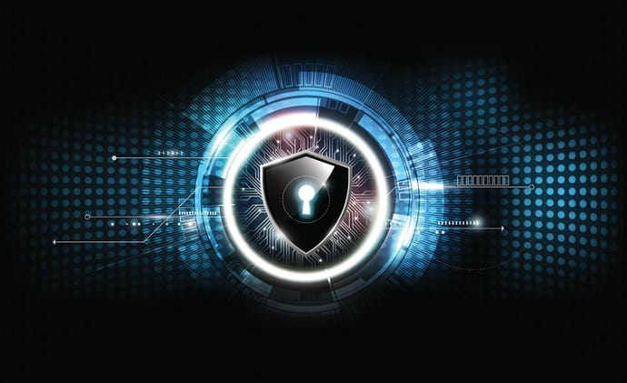 Cyber security lock and shield. Cybersecurity Program Management