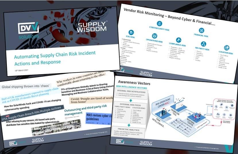 Supply Wisdom webinar banner March 2021