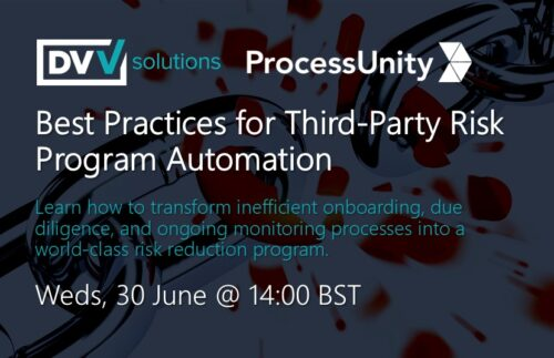 ProcessUnity Best Practices in TPRM Automation