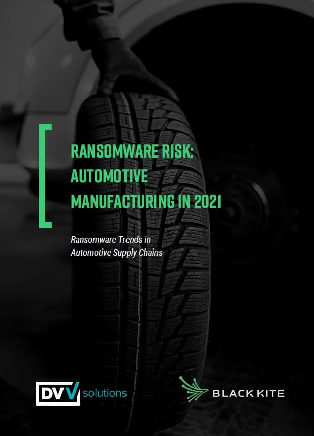 ransomware risk in the automotive supply chain