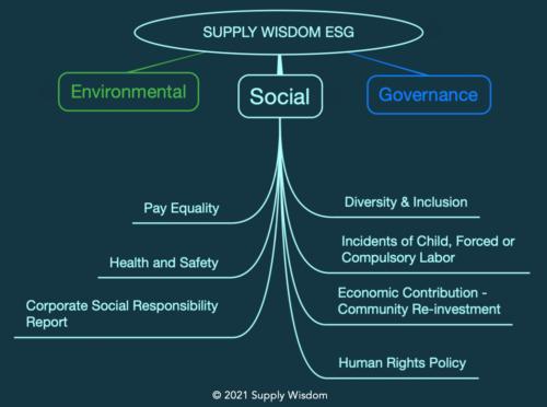 Supply Wisdom ESG Third Party Risk Social Module